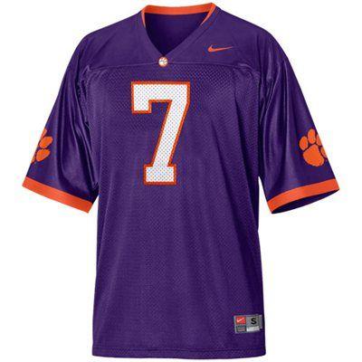 clemson purple jersey