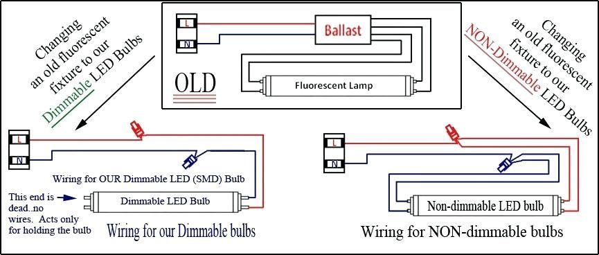 t8 led tube wiring diagram  bookingritzcarlton  led
