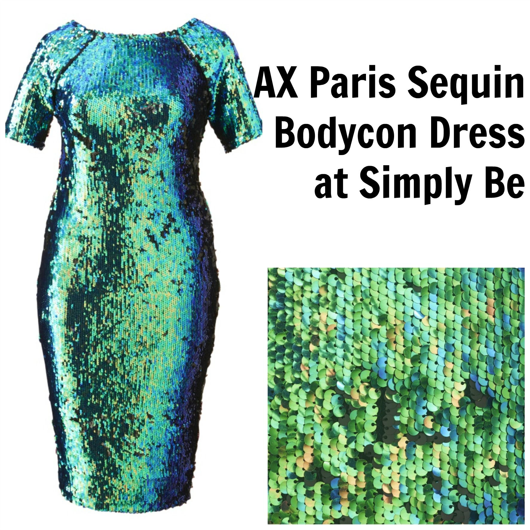Gotta Have It: AX Paris Plus Size Sequins Bodycon Dress and more at Simply Be #gottahaveit