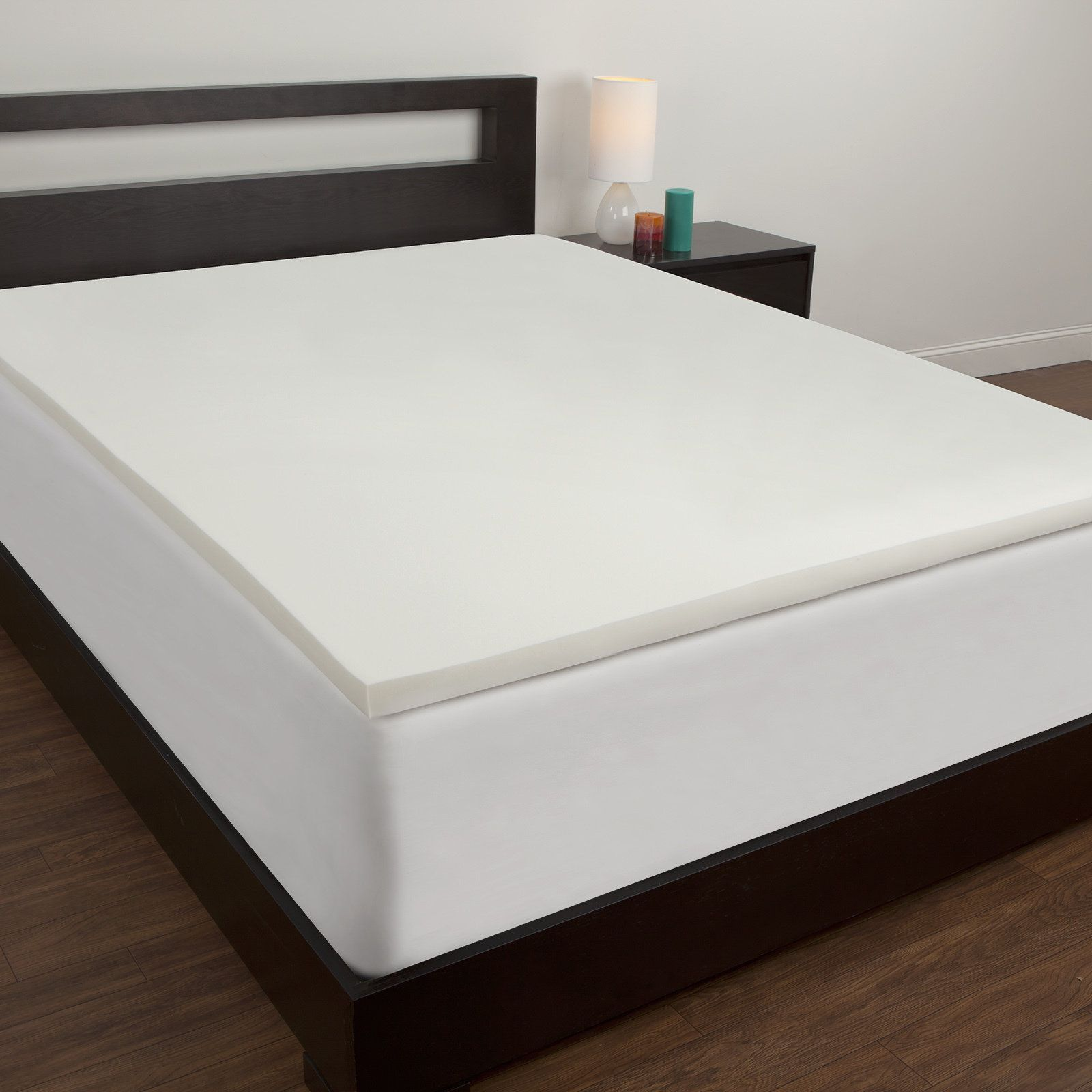 inch com tex memory gel fresh ip with toppers authentic comfort walmart cover mattress coolest nano topper foam