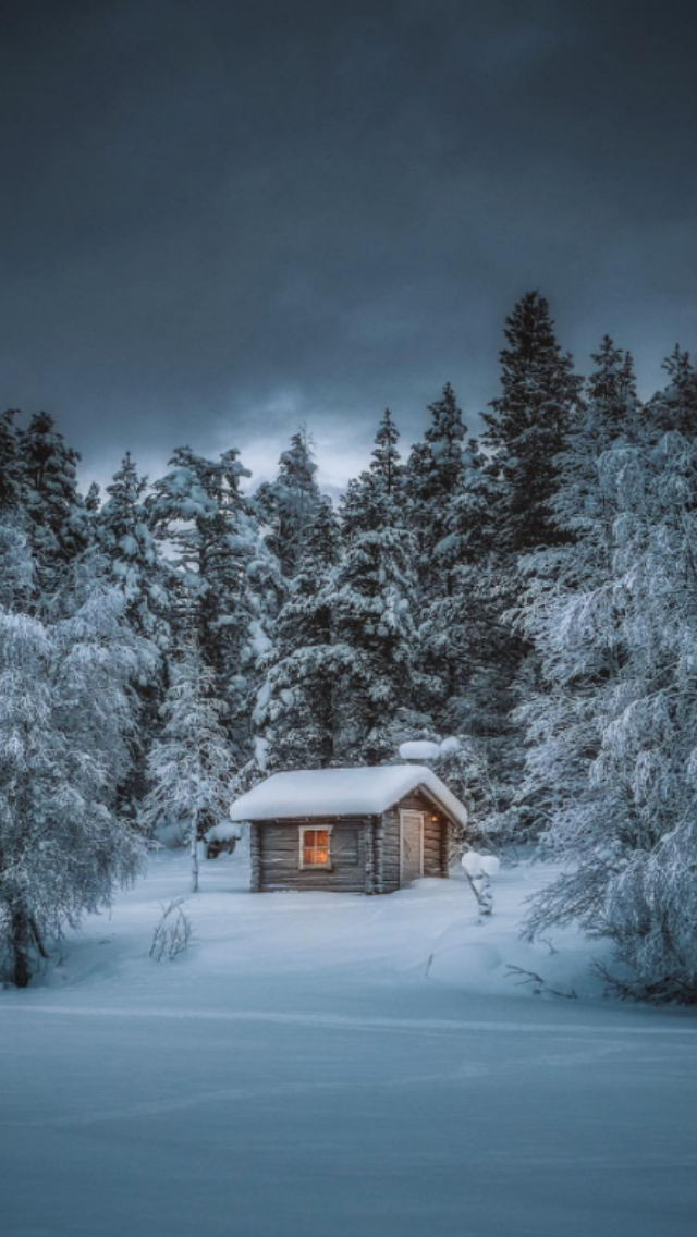 Pin By Cedar Country Lumber On Log Cabins Winter House Outdoor Cabin