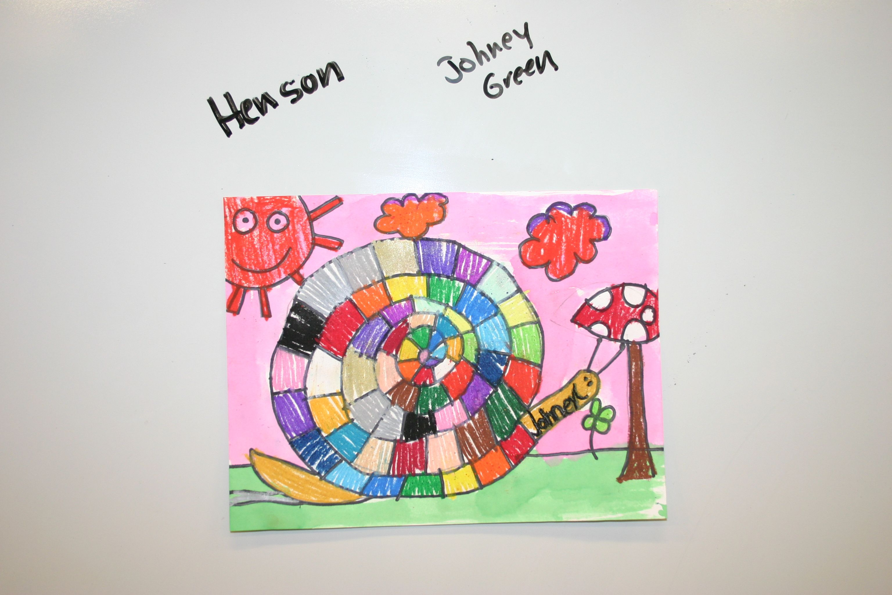 1st Grade Snail Uld Use For A Color Wheel Lesson