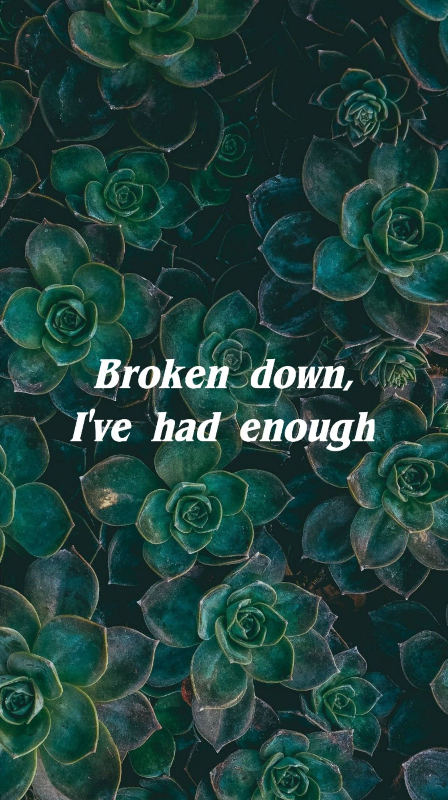 Lany Superfar Lyrics Hd Iphone Wallpaper Broken Green Design
