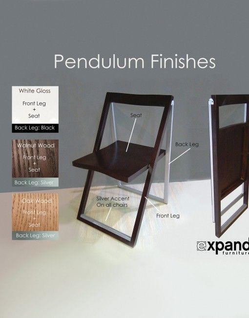 Pendulum Designer Folding Dining Chair Set Of 4 Expand Furniture Folding Dining Chairs Foldable Dining Table Dinning Tables And Chairs