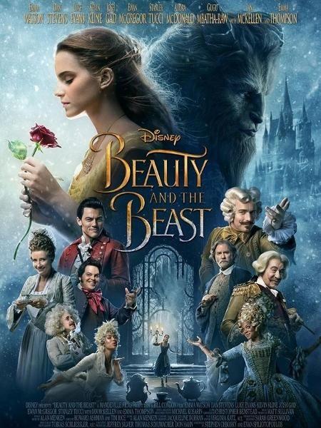 Disney Divulga Novo Poster De A Bela E A Fera E Exibicao No