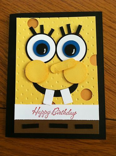 Stampin Up Kids Happy Birthday Cartoon Character Card Kit