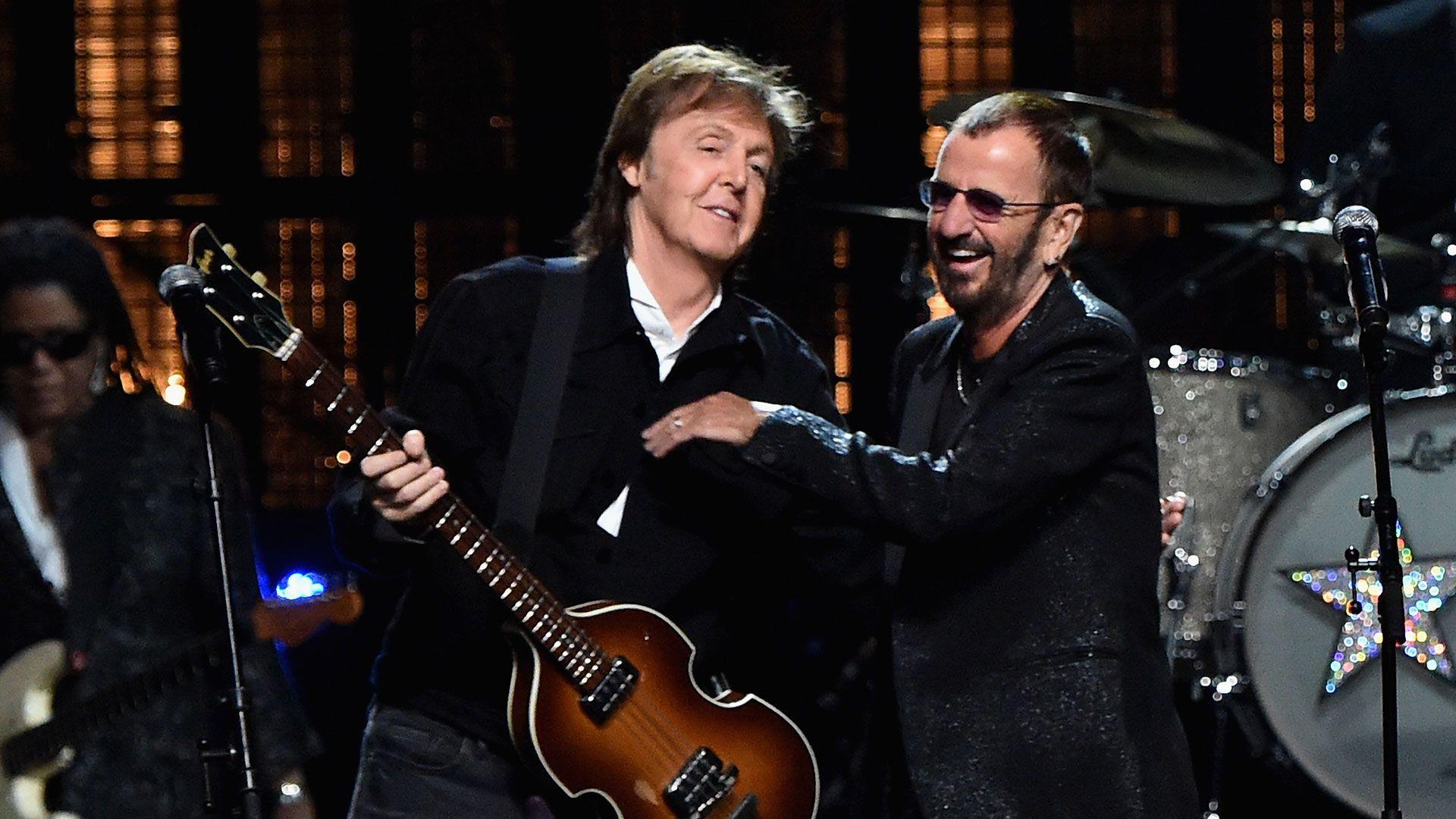 Ringo Starr Y Paul McCartney Vuelven A Grabar Juntos Feb 2017 Infobae