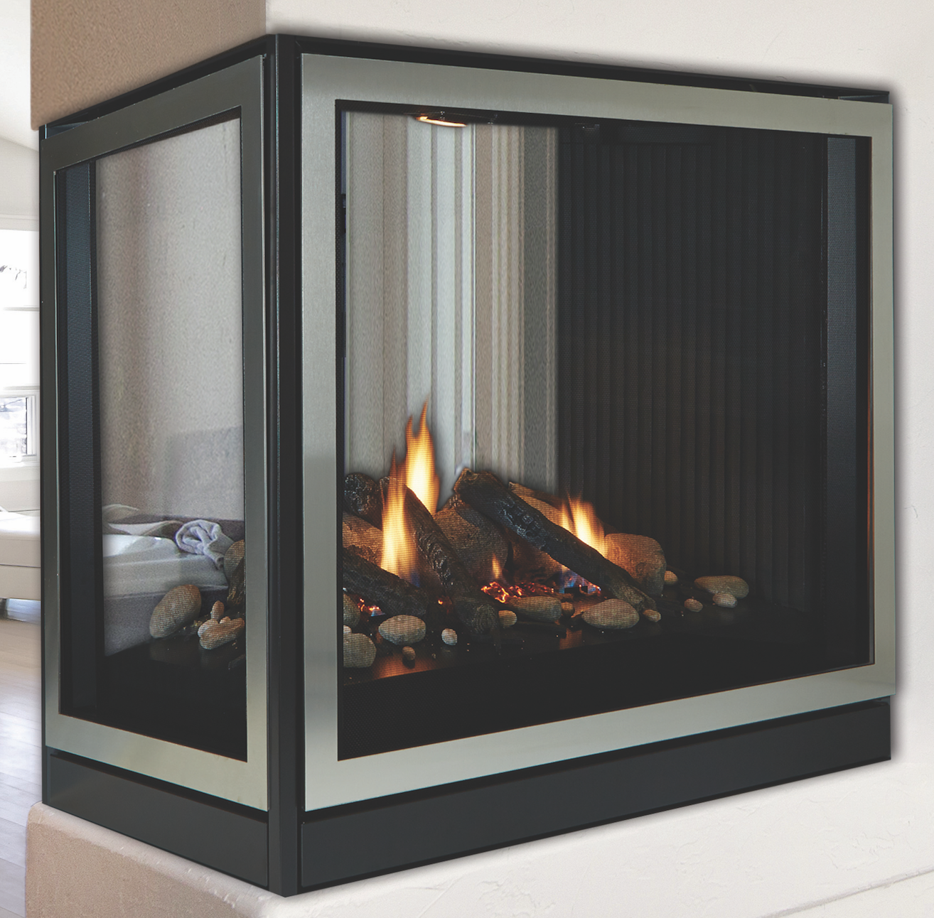 Empire Tahoe Clean Face See-Through and Peninsula ... on Embers Fireplaces & Outdoor Living id=64451