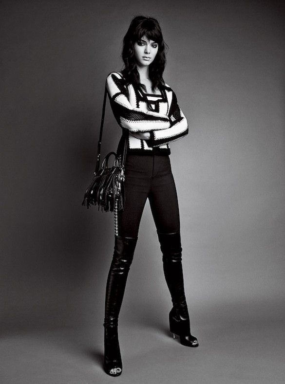 78c22e0489dc Kendall Jenner Sports Bangs In Her New Vogue Spread | Editorials ...