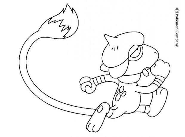 Smeargle Generation 2 Pokemon Coloring Page More Pokemon Coloring