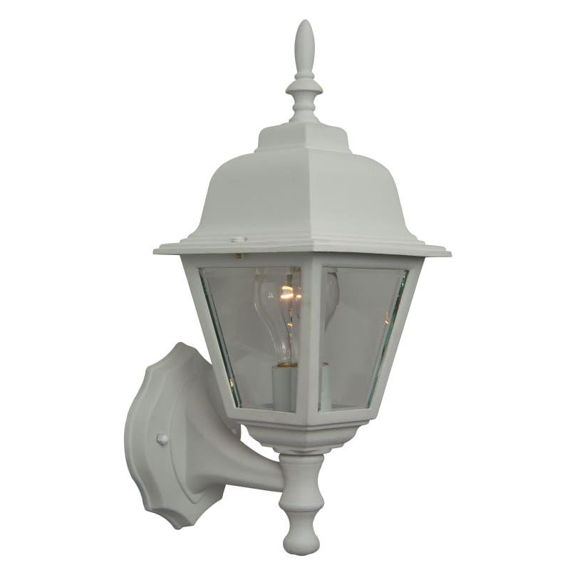 Craftmade Z170 Tw Matte White Coach Lights 15 1 Light Outdoor Wall Sconce Outdoor Walls Outdoor Wall Lighting Outdoor Wall Lantern