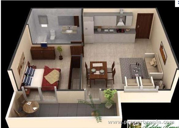 1 Bed Apt Apartment Design Studio Apartment Decorating