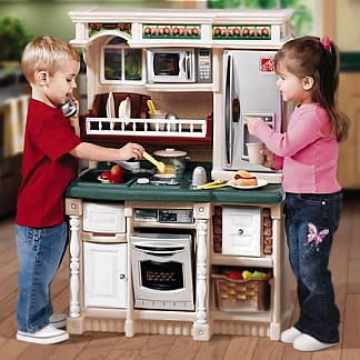 WH: I activity I chose was the kids kitchen set. The kitchen set ...