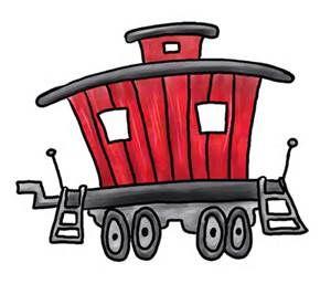 train caboose clip art free bing images ruthie s caboose rh pinterest com caboose clipart line leader caboose clipart