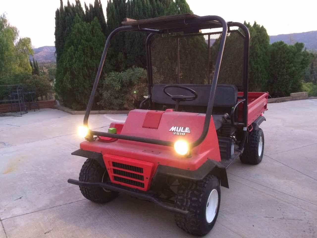 Used 1994 Kawasaki MULE 2510 ATVs For Sale in California.   Kawasaki