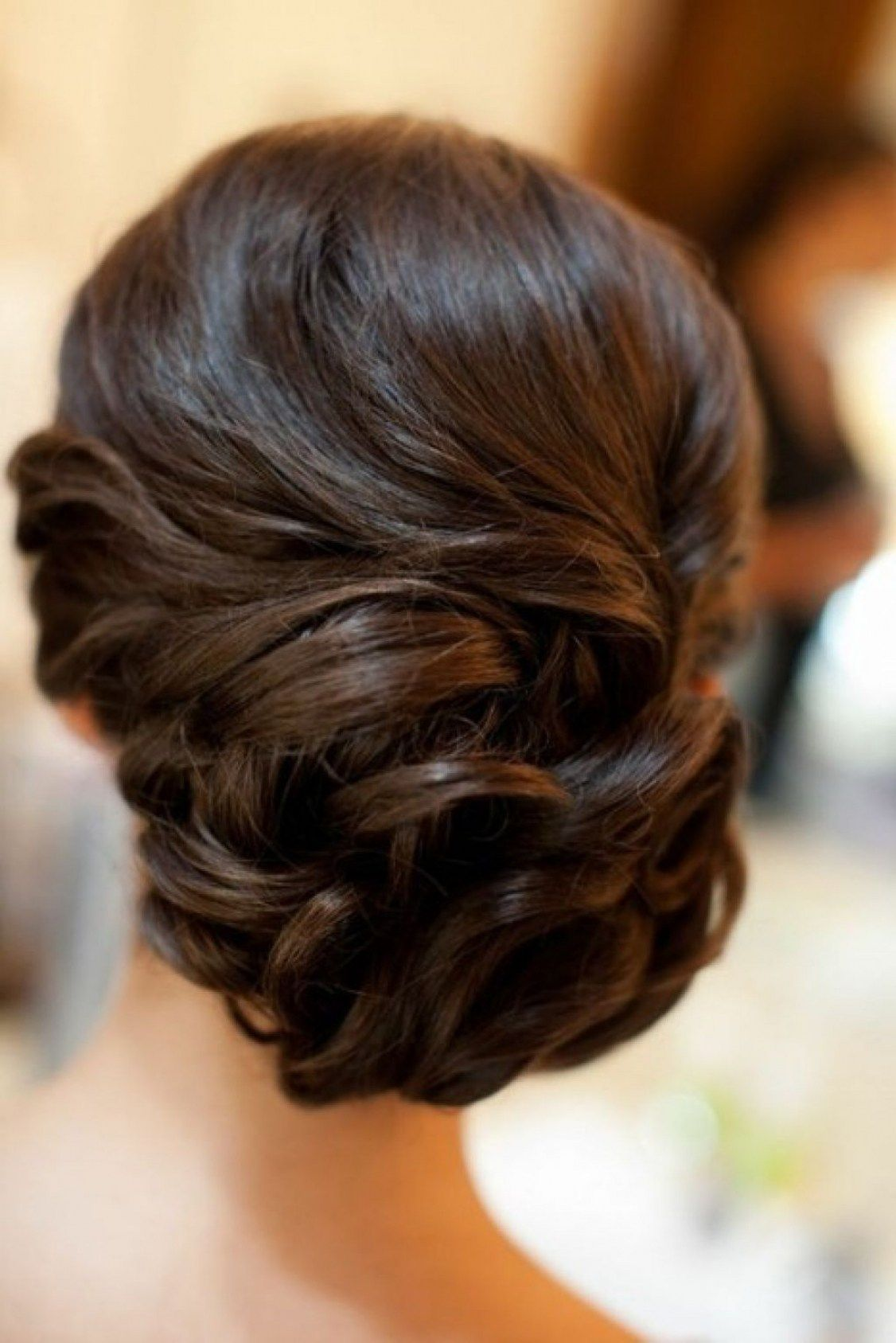 32 Beautiful Simple Updo Hairstyles For Weddings Wedding