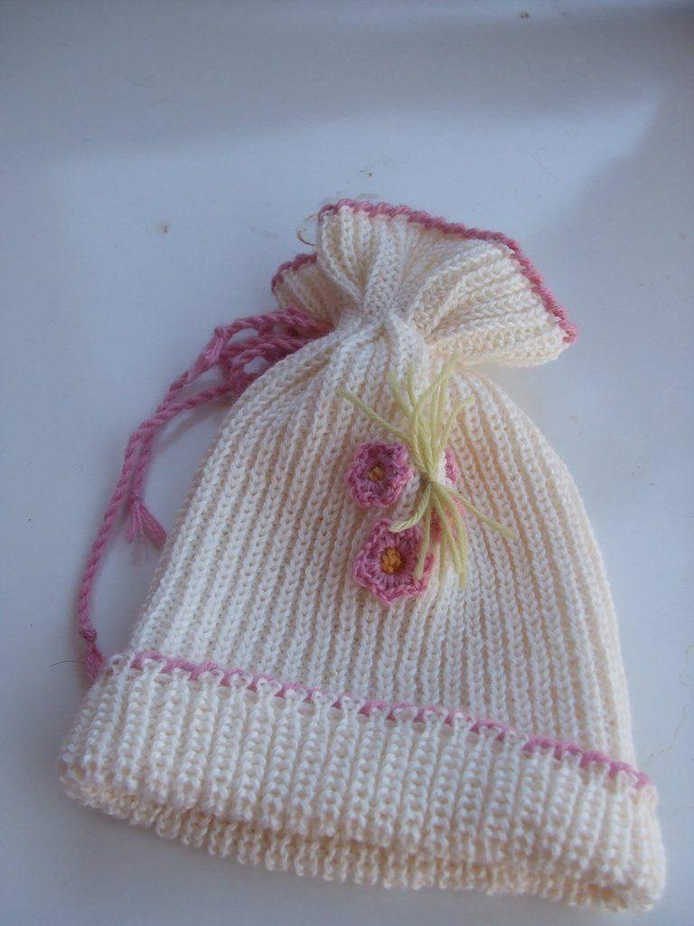 Cappello bimba lana beretto  edb5bb9982dd