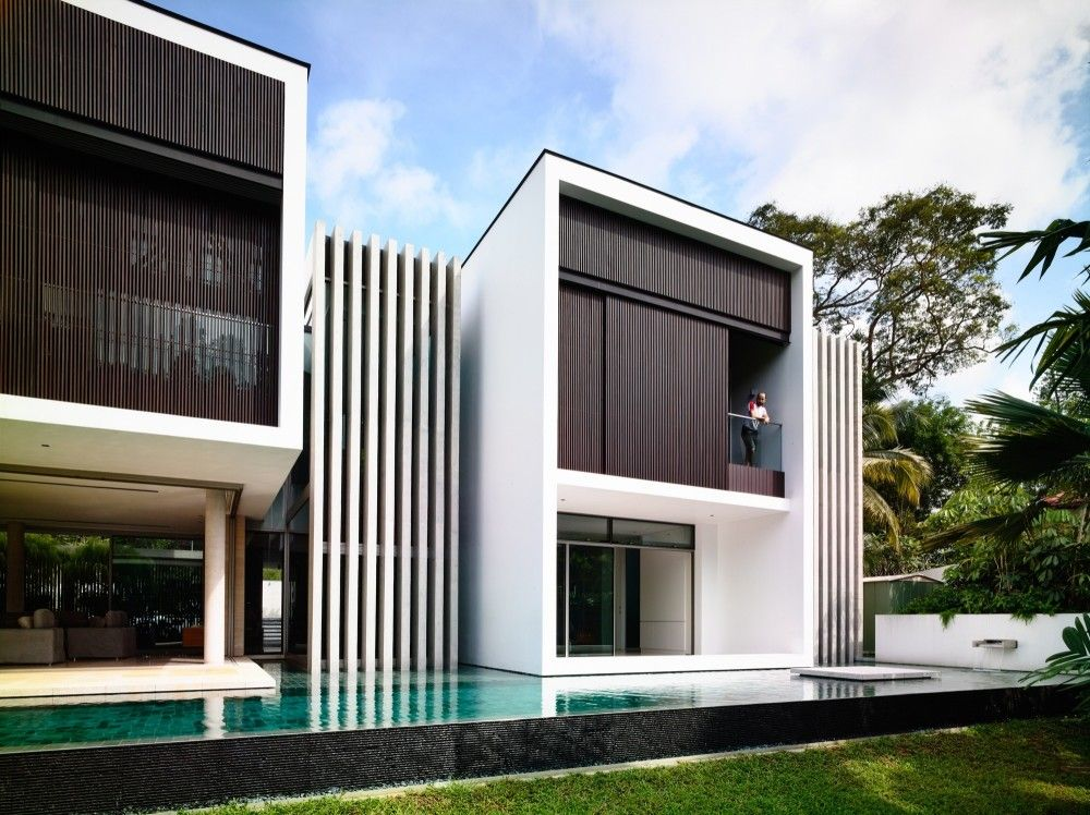 59BTP-House / ONGONG Pte Ltd House, Architecture and Arch - jeux de construction de maison en 3d