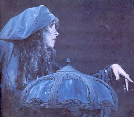 Stevie Nicks with Dark Blue Tiffany Lamp! | Antiquing | Pinterest ...