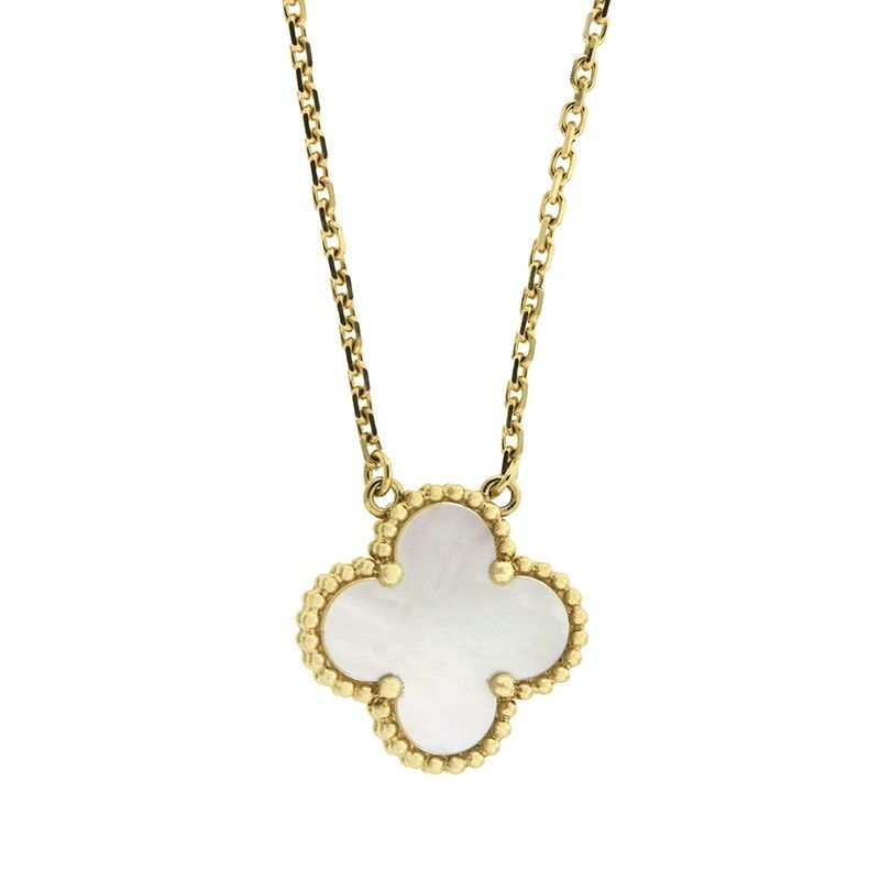 Van cleef and arpels van cleef and arpels yellow gold vintage van cleef and arpels van cleef and arpels yellow gold vintage alhambra necklace truefacet aloadofball Image collections