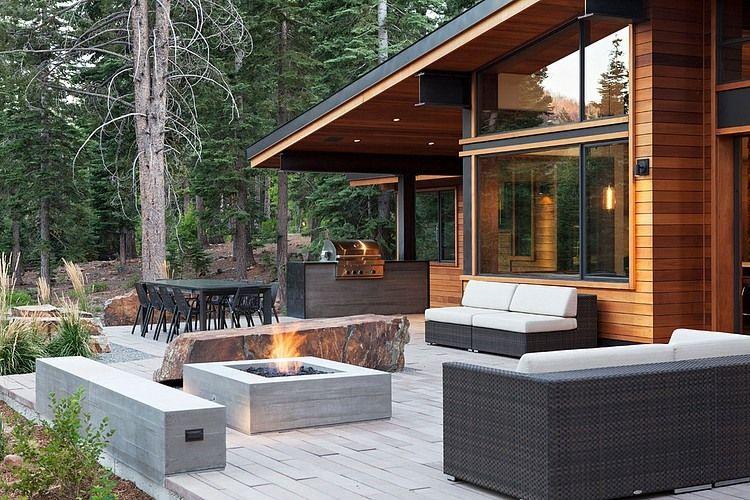 Martis Camp House by Concreteworks CASE DA SOGNO Pinterest - balcones modernos