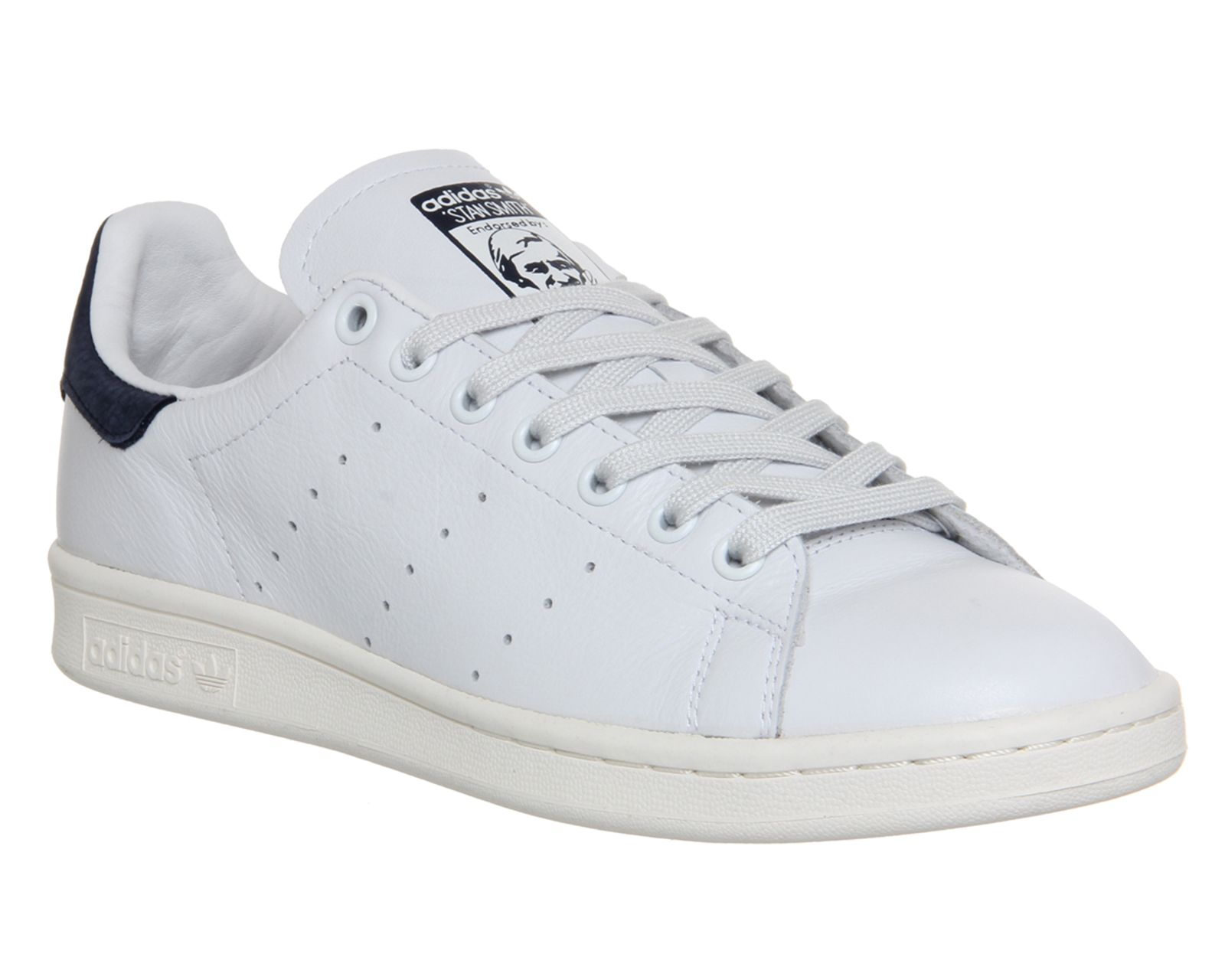 buy popular ba223 edeb5 Adidas Stan Smith Neo White Cobalt Blue - Unisex Sports ...