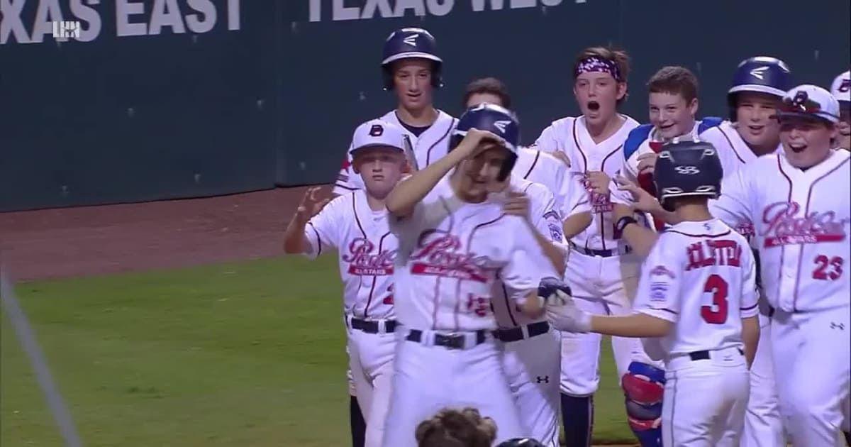 Ryan Selvaggi Blasts Two Run Homer Running Little League Homerun