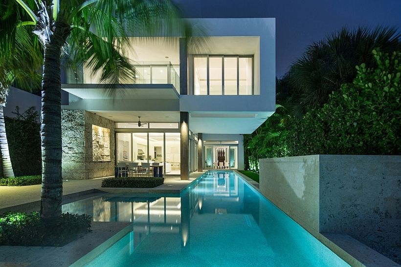 Modern Home Design Idea With Stunning Elegance, Actually It Was A Narrow  Lot. Modern Home DesignBeautiful Modern HomesMost ... Part 95