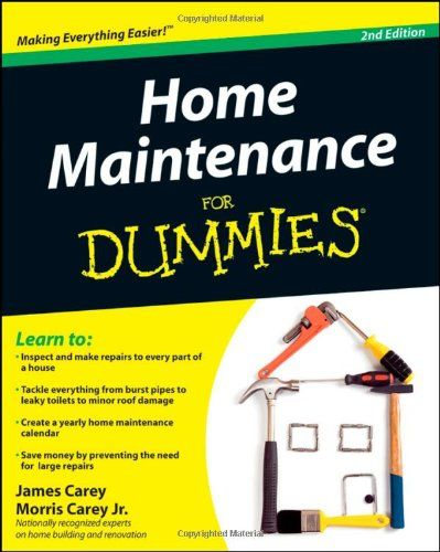 Home Maintenance For Dummies How To Books Home Maintenance Home Repair Dummies Book