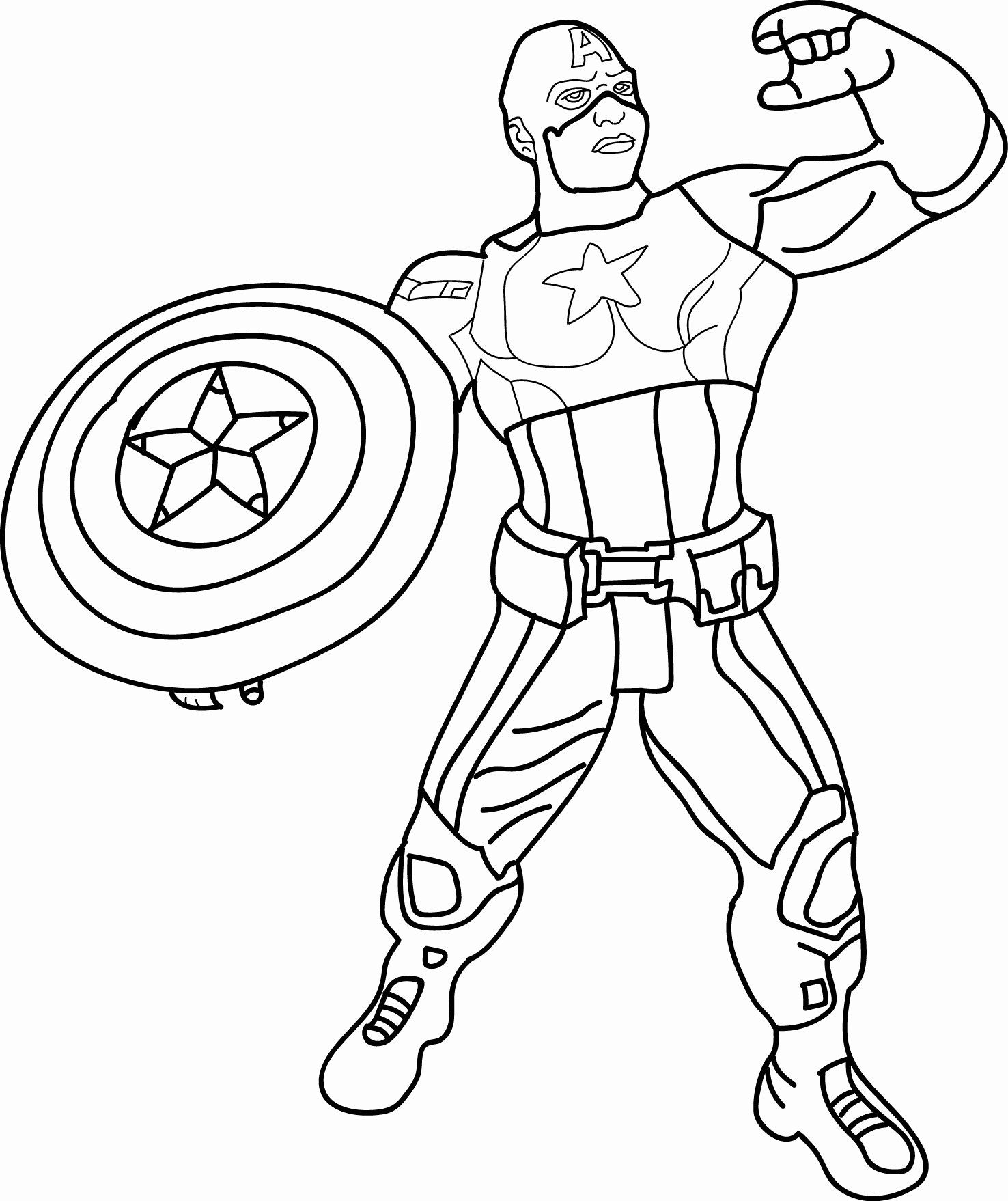 Captain America Coloring Page New Avenger Kids Cartoon Captain America Toy Captain America Coloring Pages Avengers Coloring Pages Captain America Coloring Page