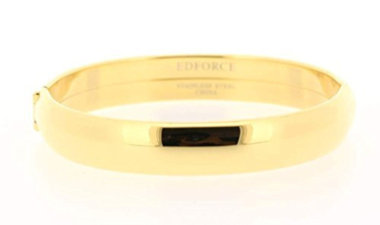 Ben and Jonah Stainless Steel Hinge Ladies Bracelet Gold Tone by Ben&Jonah -- Awesome products selected by Anna Churchill
