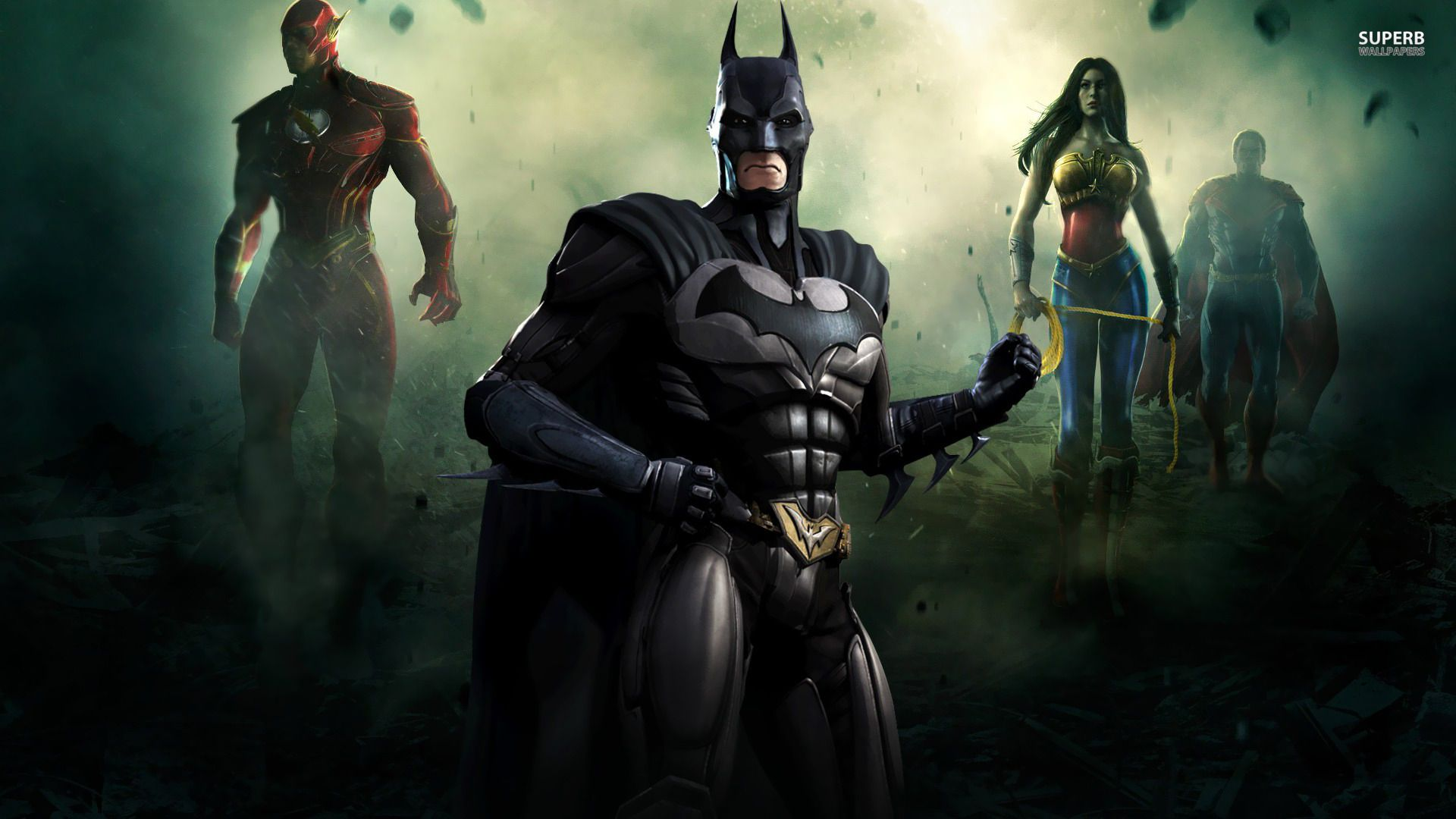Batman Injustice Gods Among Us Wallpaper Batman Injustice Injustice Batman Wonder Woman