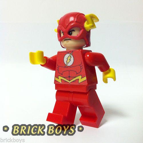 Custom Lego Minifig The Flash Batman 2 Dc Heroes Custom Lego Lego Batman