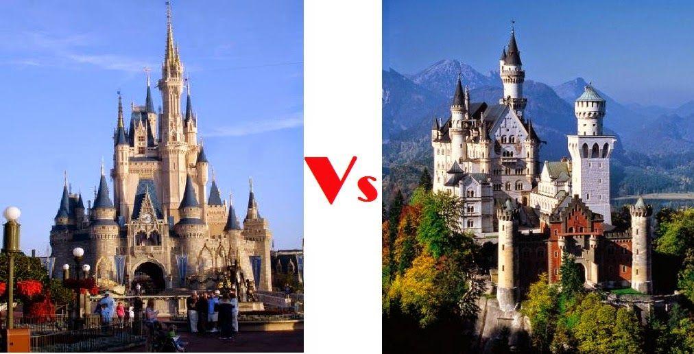 Neuschwanstein Castle Neuschwanstein Vs Disney What Is The Best Neuschwanstein Castle Castle Barcelona Cathedral