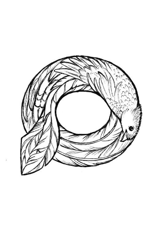 Coloring Page Q Quetzal Coloring Picture Q Quetzal Free