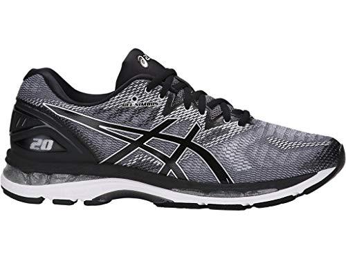 Autenticación Paloma Dios  ASICS Men's Gel-Nimbus 20 Running Shoe, Carbon/Black/Silver | Running shoe  reviews, Running shoes, Asics men