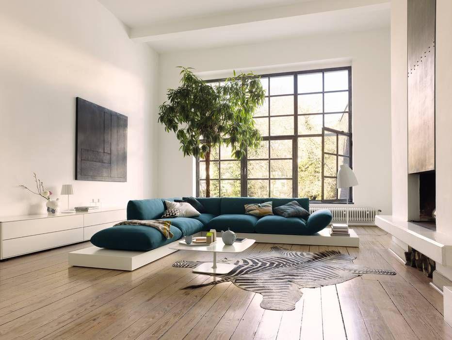 moderne wohnzimmer bilder: cor sitzmöbel | moderne wohnzimmer, Wohnzimmer