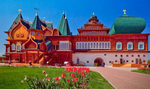 Wooden Fairytale Palaces Russian Architecture Catherine The