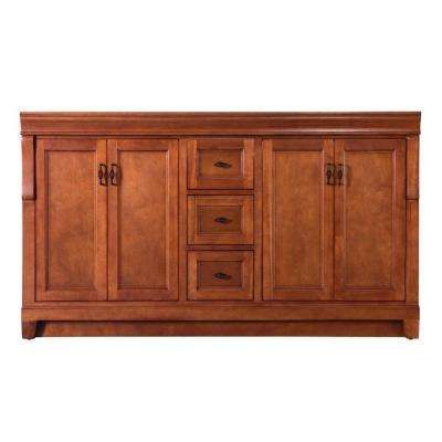 Naples 60 In W Bath Vanity Cabinet Only In Warm Cinnamon For