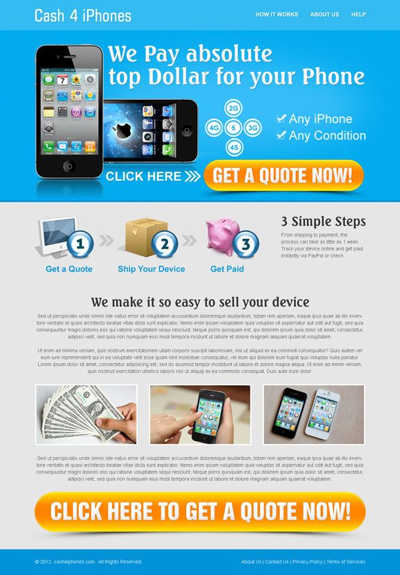 Effective web design and landing page design services by ...