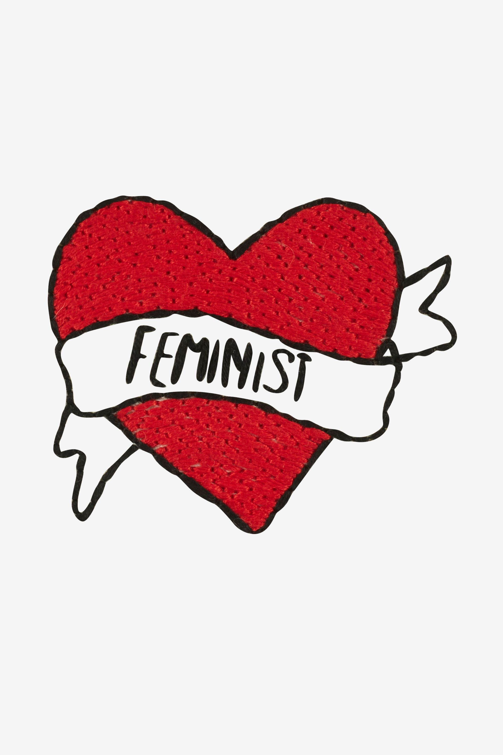 Proud Feminist pattern | FREE PATTERNS