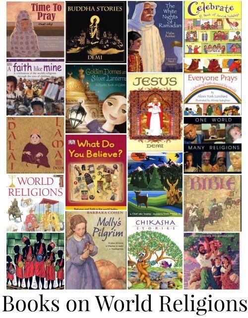 Kidlit Books On World Religions For Kids Books Describing - List of major world religions