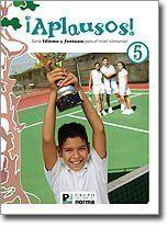 Aplausos 5 (Serie Idioma y Fantasia, Texto) by Publicaciones Educativas, http://www.amazon.com/gp/product/9584503928/ref=cm_sw_r_pi_alp_DD.Ypb0XCSEJN