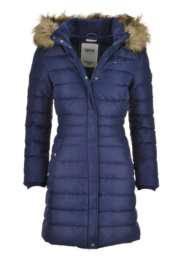 cb5c5094 Tommy Hilfiger Womens Maria Down Filled Hooded Coat, Navy | McElhinneys  Department Store