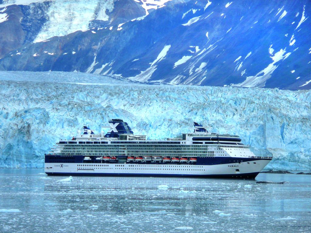 Sailwithcelebrity Hubbard Glacier In Alaska Celebrity Cruise One Day I Will Do This Cruise