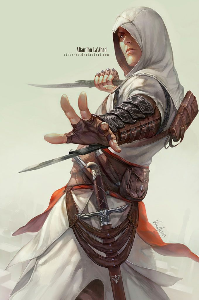 Assassin S Creed Altair Ibn La Ahad By Virusac Assassins Creed