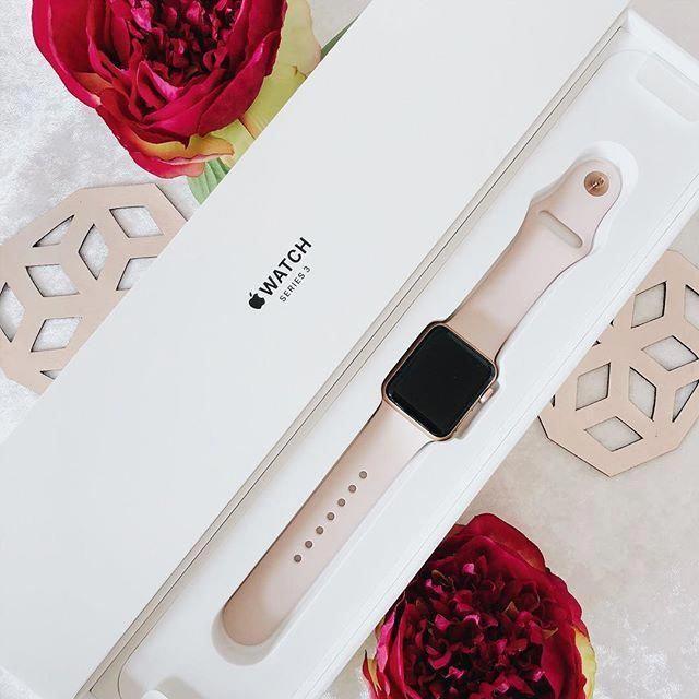 Apple Watch Series 3 Rosegold Smartwatch miravellichor