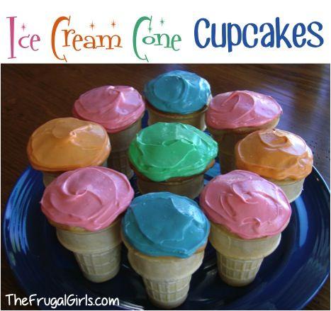 recipe how to make meringue ice cream cones