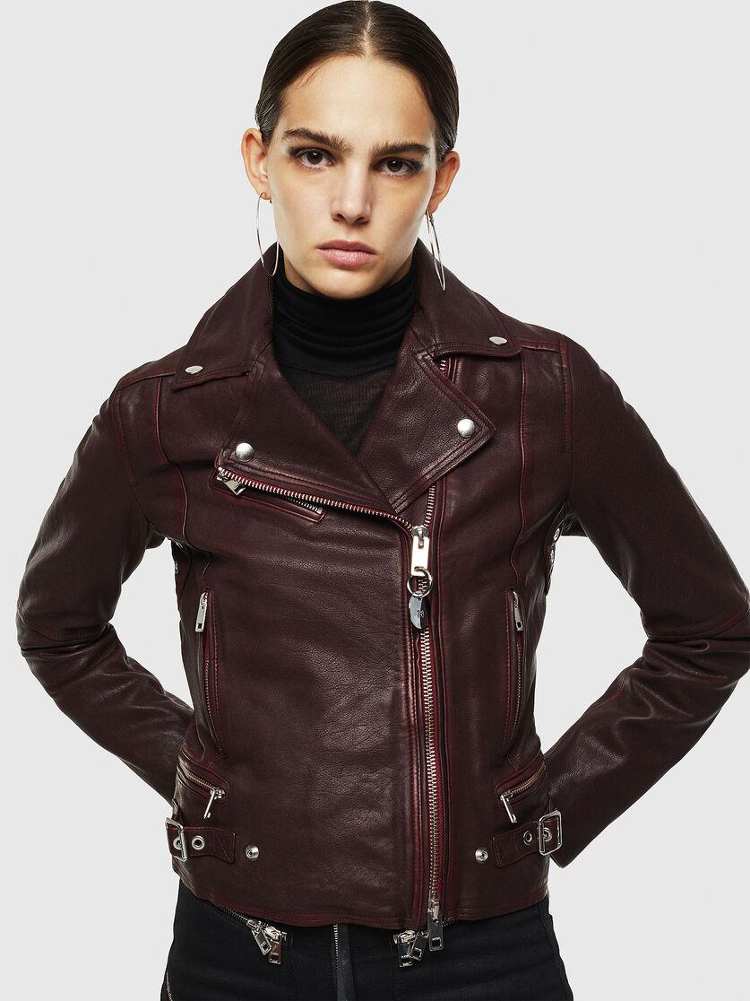 L Yle Burgundy Leather Jackets Women Leather Jacket Leather [ 1116 x 837 Pixel ]