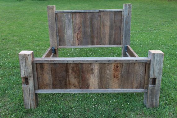 Your Reclaimed Rustic and Recycled Barn Wood King Bed